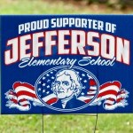 Jefferson Yard Sign